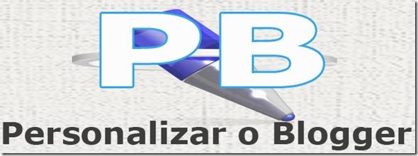 personalizar o blogger