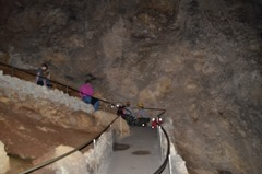 Park Rangers administering First Aid to a heart attack victim...Carlsbad Caverns