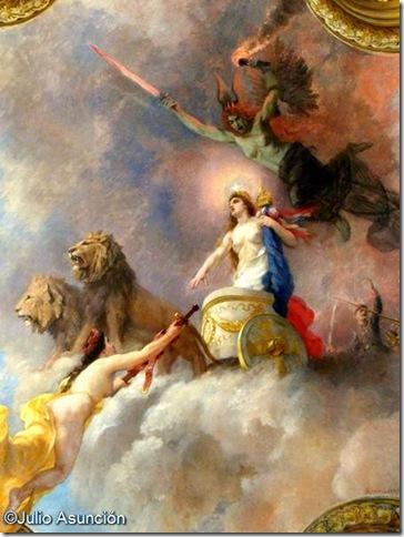 Alegoría de Francia y la Guerra - Capitolio - Toulouse
