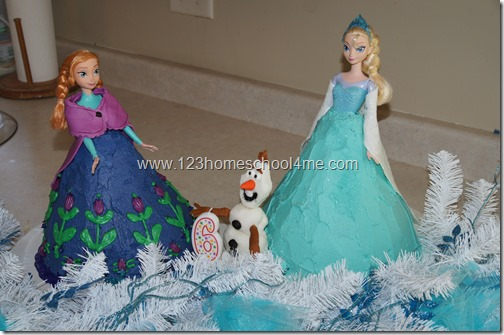 beautiful frozen cakes