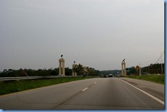 8007 US-82 (Victory Dr) Gateway to Fort Benning, GA - Follow Me Soldier and two American Eagles