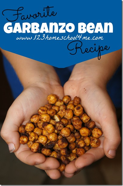 Turn healthy garbanzo beans into your families favorite snack #recipes #realfood