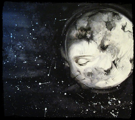 la soledad de la luna