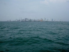 First view of Cartagena.
