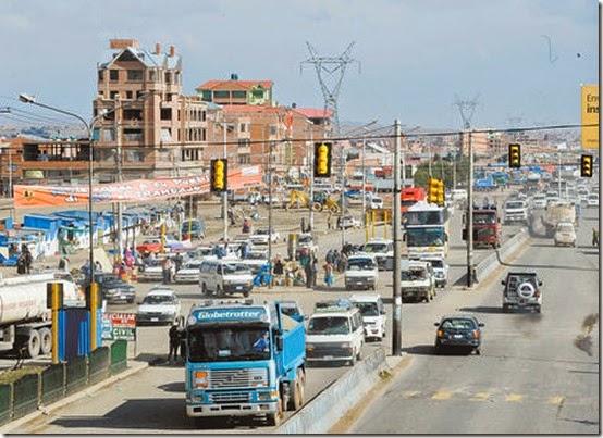Crecimienot de El Alto