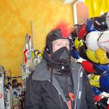 my mohawk snowboard helmut in Seefeld, Tirol, Austria