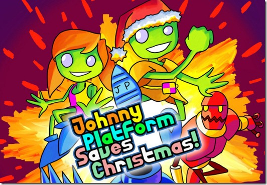Johnny Platform Saves Christmas free PC game