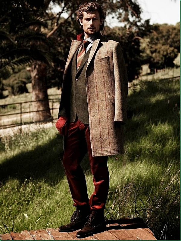 Additional Images of Wouter Peelen for Scapa F/W 2014