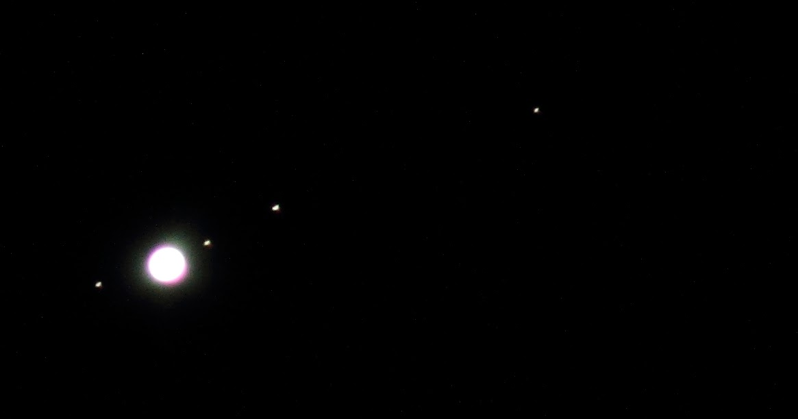 jupiter and its moons with white back - photo #36