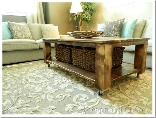 rustic coffee table7