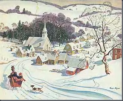 SnowyCountryVillage