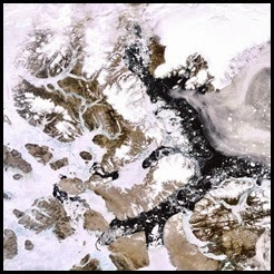 4. December. White. Summer ice in the Arctic