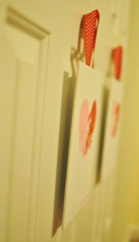 Valentines Day handprint heart canvas-8