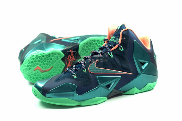 The Showcase Nike LeBron XI Akron versus Miami Part One