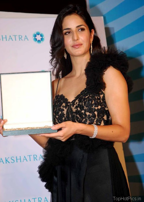 Katrina Kaif Hottest Pictures in Cute Black Dress 1