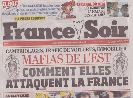Portada France Soir