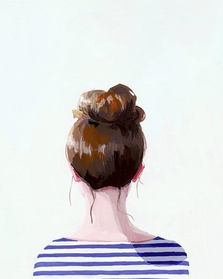 Bun Print by Elizabeth Mayville