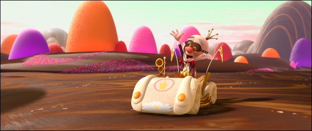 """WRECK-IT RALPH""   (Pictured) KING CANDY in the video game world of Sugar Rush. ©2012 Disney. All Rights Reserved."