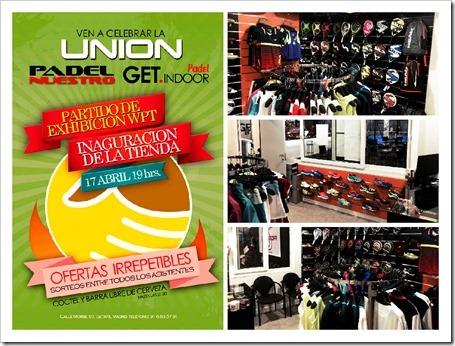 Padel Nuestro facilita la apertura de la tienda de pádel en el prestigioso club Get Indoor de Getafe.