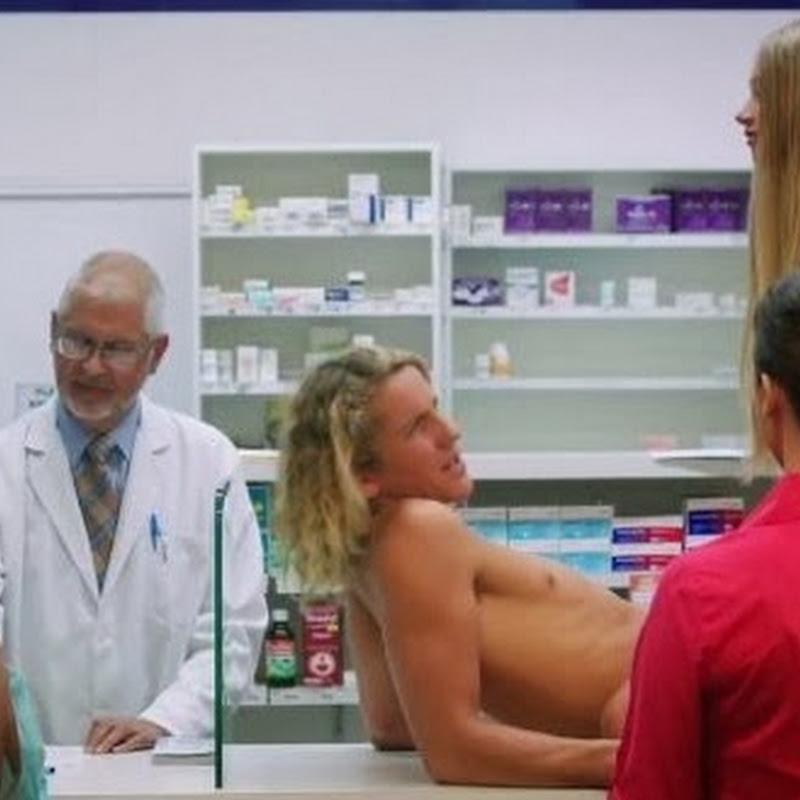 Prueban condón en farmacia