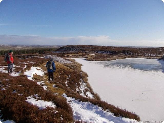 stanhope road quarry frozen pond