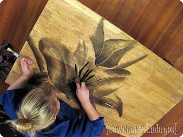 Using-Wood-Stain-to-make-ARTWORK-Saw