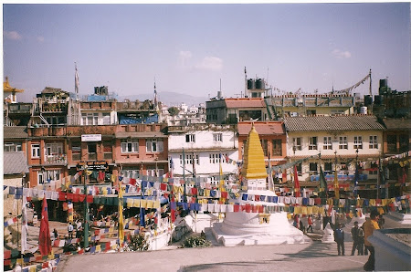 Sights of Nepal: Bouddha
