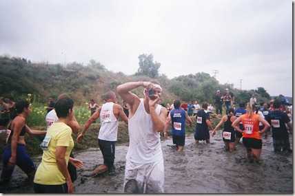 Camp Pendleton Mud Run fun picture taking fun