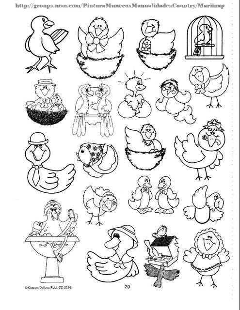 Atractivo Hojas Para Colorear De Pájaros Fotos - Dibujos de Animales ...
