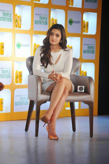 Alia Bhatt Unveils Garnier'S New Products