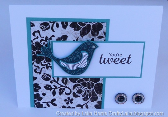 Card April SOTM You're Tweet