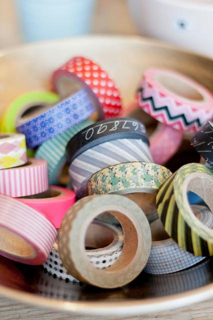 Decora tu mundo con washi tape sin moverte de casa el - Decoracion con washi tape ...