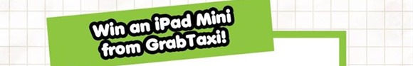 EDnything_GrabTaxi Win an Ipad