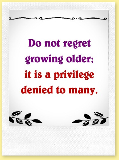 don't regret