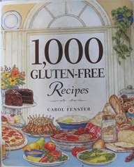 Cape Cod Columbus weekend 2012..Sat. Gluten Free cookbook