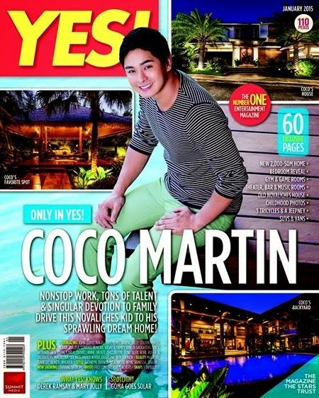 Coco Martin - Yes! January 2015
