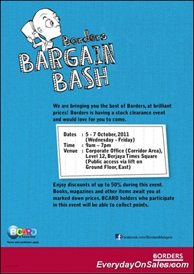 Borders-Bargain-Bash-2011-EverydayOnSales-Warehouse-Sale-Promotion-Deal-Discount