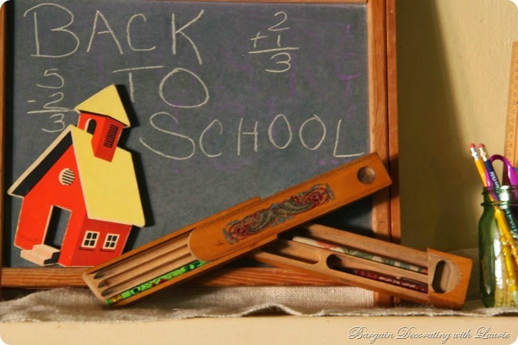 Back to School Mantel 4