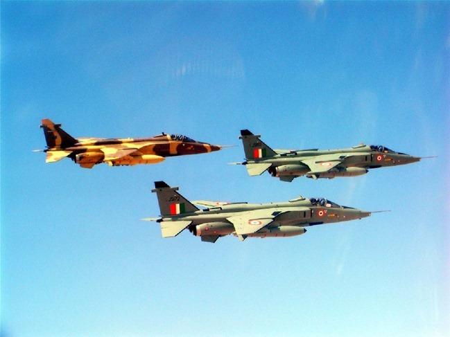 Indian Air Force [IAF] SEPECAT Jaguar Fighter Aircraft in Oman