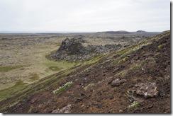 at Saxholl crater
