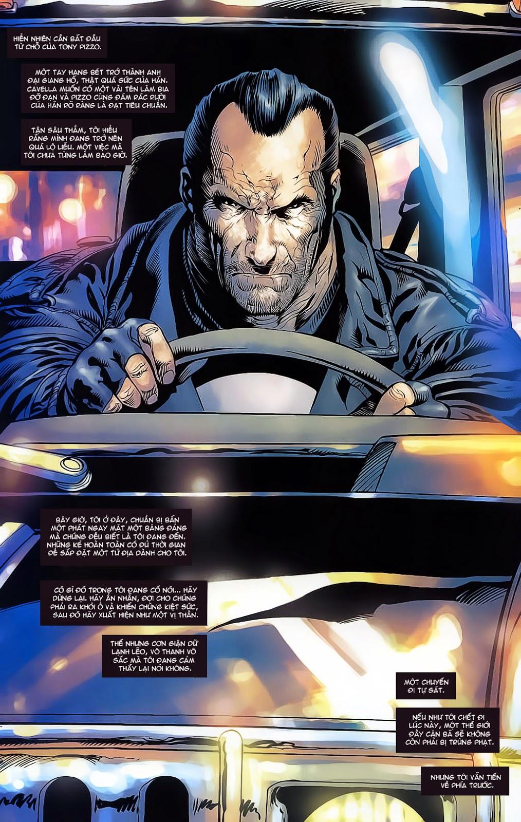 The Punisher: Trên là Dưới & Trắng là Đen chap 4 - Trang 19