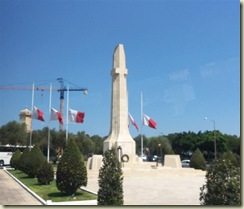 WWII Memorial near Valletta gate (Small)