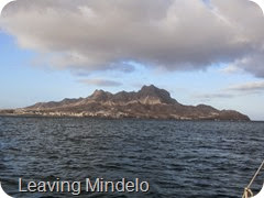 001 Leaving Mindelo, Cape Verdes