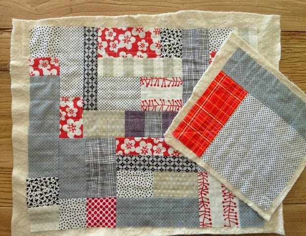 Quilted Patchwork Slab