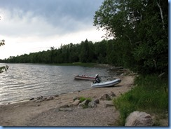 7144 Restoule Provincial Park - Kettle Point Campground - walk to Restoule Lake dock