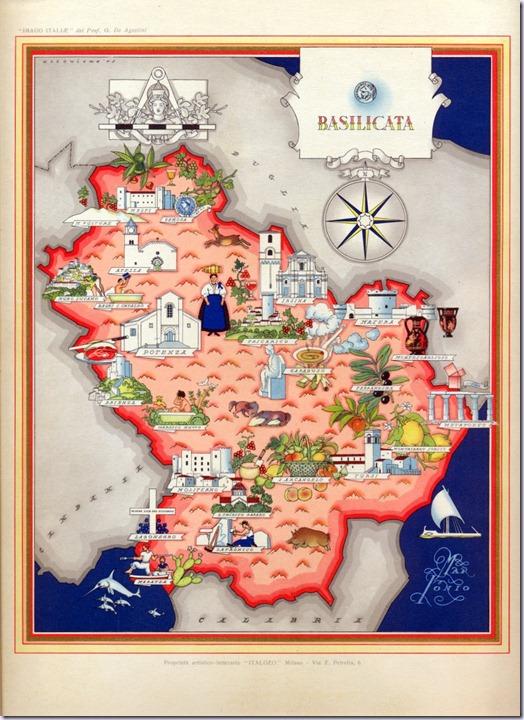 ITALIA del 1950 - Collezione -  Basilicata0004