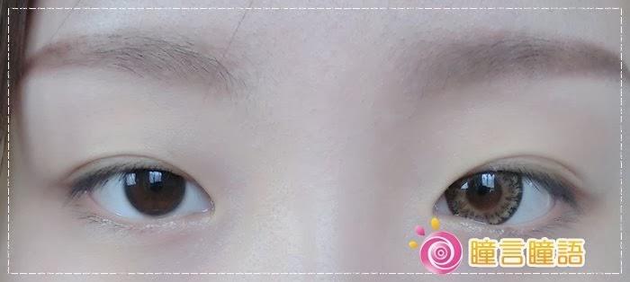 韓國GEO隱形眼鏡-GEO Eyes Cream 霜淇淋咖007