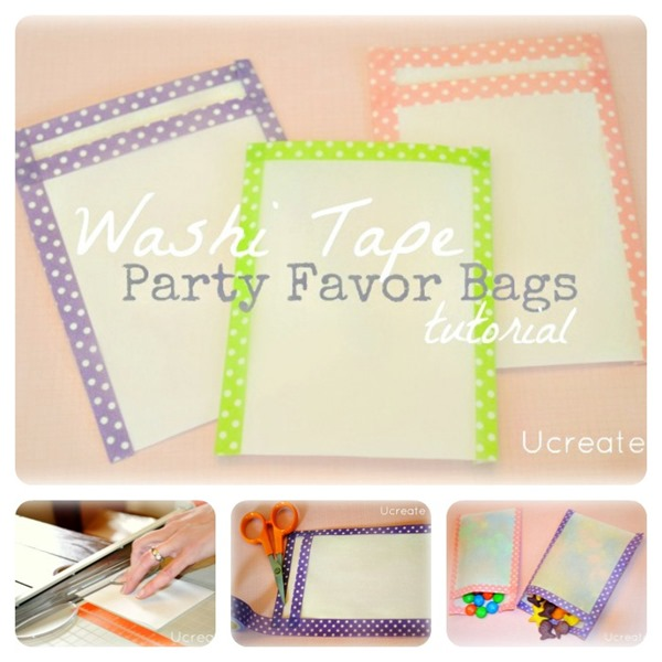 Washi-Tape-Favor-Bags