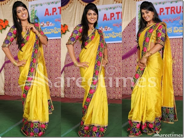 Daksha_Yellow_Silk_Saree