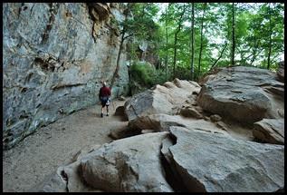 27 - Rock Garden Trail - through another world